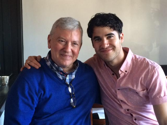 @ACTSanFrancisco #YoungConservatory director Craig Slaight hanging with alum @darrencriss @GLEEonFOX http://t.co/Ajw8LKE494