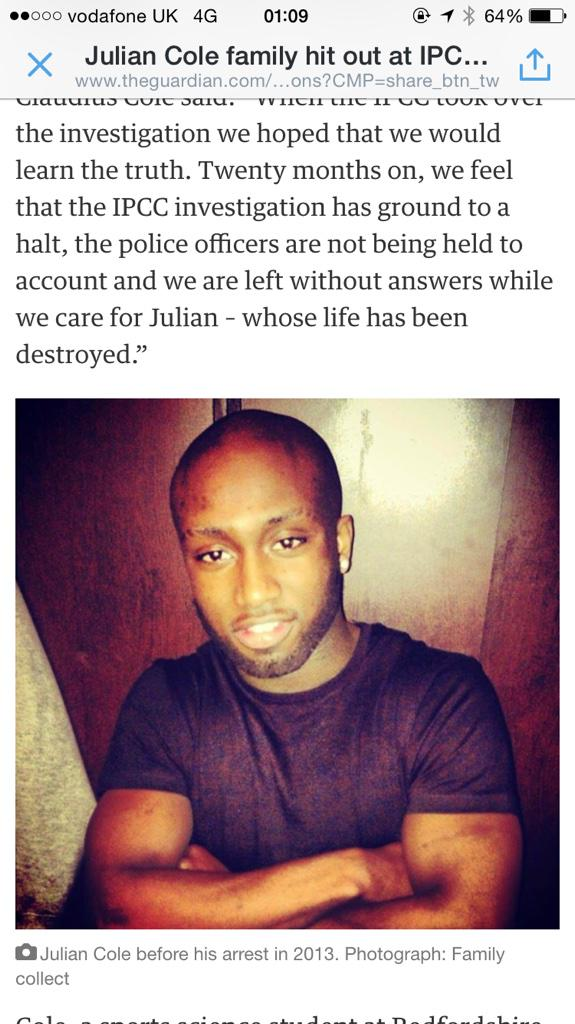 """""""@acs_Bedford: #JusticeForJulian  http://t.co/ItKX5Oy1YB RT! http://t.co/lkdoWinr30"""" << What?!"""