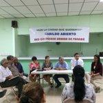 Reunion con residentes de El Carmen, escuchando sus problemáticas con el sr. Alcalde @BlandonJose #BellaVista http://t.co/U3IJrD3n1H