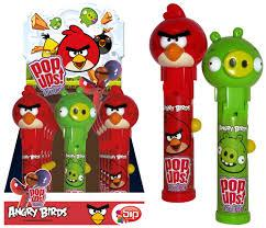 Angry Bird Pop Ups Lollipop