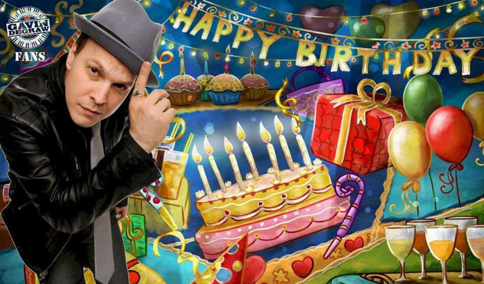 Happy Birthday @GavinDeGraw!!!!! We love you so much and are so excited for what this year will bring you!!!!!