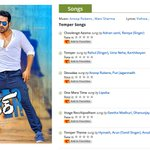 Exclusive: Check Out Jr NTR's #Temper movie Audio Track list:  http://t.co/CHriDpboK5