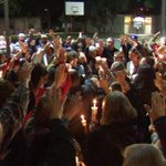 Twitter / @ABC7: Vigil held in Santa Clarit ...