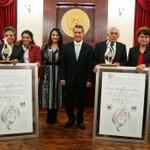 En nombre de Miguel Ángel, Vicente Granados Chapa (#PostMortem) y Ma Isabel Yebra Morón reciben #CéfirodePlata 2014 http://t.co/OSSVLryByE