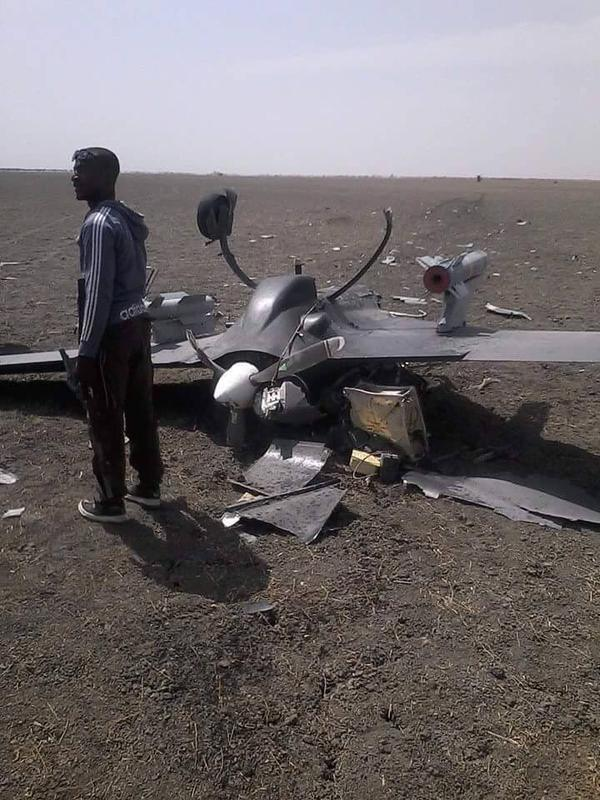 UAV suspected to be a Chinese CH-3 crashed in Nigeria, was carrying weapons http://t.co/HnvlstBeTV