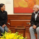 Twitter / @MIB_India: Indian Boxer, Mary Kom cal ...