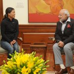Twitter / @abpnewstv: Olympian boxer Mary Kom me ...