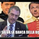 Twitter / @FrancescoLamana: #RENZI SALVA BANCA PAPA # ...