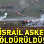 Twitter / @Mihriban_merent: Sınırda İSRAİL Askerlerine ...