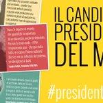 Twitter / @beppe_grillo: Il candidato presidente de ...