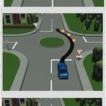 Richting aangeven op en nabij een rotonde; zó zit het in elkaar. @VerkeersagentDH #verkeersveiligheid http://t.co/Q4G6XgeeNJ