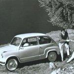 Twitter / @repubblicait: Compie 60 anni la Fiat 600 ...