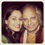 And its my Dadu's 85th birthday today! Happy Birthday to the finest voice in the history of mankind #PanditJasraj http://t.co/i7P1WTOHGQ