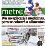 Esta es nuestra portada de hoy. ¡Busca tu #Metro! http://t.co/l5IFPASni6