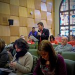 .@JavierPuy candidato de @UPyD al Ayto. Zgz, interviniendo en el #Plenozgz como toda la legislatura en cada pleno. http://t.co/7jRH00j7n7