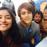 Xander and Agnes with John Rey and Jeremiah 👫👬 http://t.co/SlkKjvvlr9