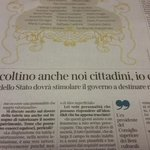 Twitter / @riotta: Salvatore Settis candidato ...