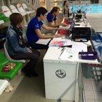 Voorbereidingen op #schoolzwemkampioenschap Zwolle in volle gang @swol1894 #zwembaddevrolijkheid http://t.co/I1dXV7hqkj