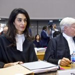 Twitter / @eafjd: Thank you Amal Alamuddin-C ...