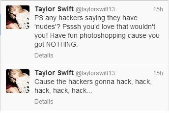 Hackers gonna hack...@taylorswift13 social media gets hijacked, response is perfect: http://t.co/U35048vjfB http://t.co/5AMEsSzIkM