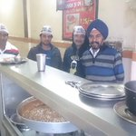 Mr Chadda 4m Shah Di Rasoi invited us and told that AAP is last hope! He also offered all of us free food! Touched! http://t.co/z3ROEPakeT
