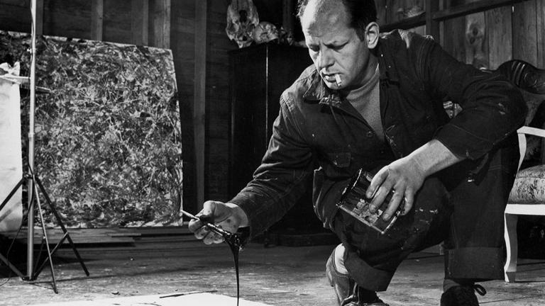 Happy Birthday #JacksonPollock! Some fun facts vs. myths on the mysterious drip painter: http://t.co/FFC9hy6ZVo http://t.co/78WaBZtB36