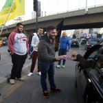 Meanwhile in #Lebanon: passing out candy in celebration of murder http://t.co/CnZcEL3a17