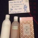 Twitter / @pamyurin: 彩織ちゃんいい匂いするからめっちゃ嬉しいプレゼント! ...