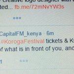 Twitter / @LilyNdirangu: @CapitalFM_kenya @Safarico ...