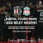 Kartal Yuvasından Liverpool Maçına 100 Bilet Hediye!  http://t.co/SJlUgkSfXL http://t.co/G3EjgHt7Iq