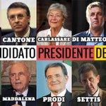 Twitter / @romano5stellebs: La rosa dei 10 candidati # ...