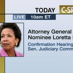 Twitter / @cspan: Confirmation Hearing: Atto ...