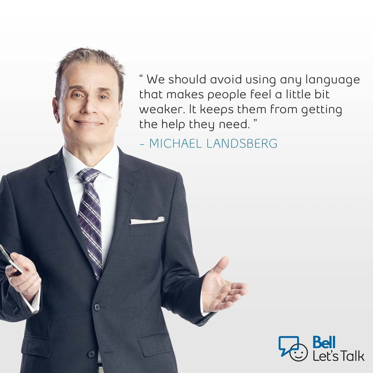 Bell will donate 5¢ to mental health for every #BellLetsTalk tweet and RT. Together, let's end the stigma. http://t.co/TTr90WBedB