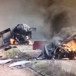 Twitter / @IsraelBreaking: Aftermath of Hezbollah att ...