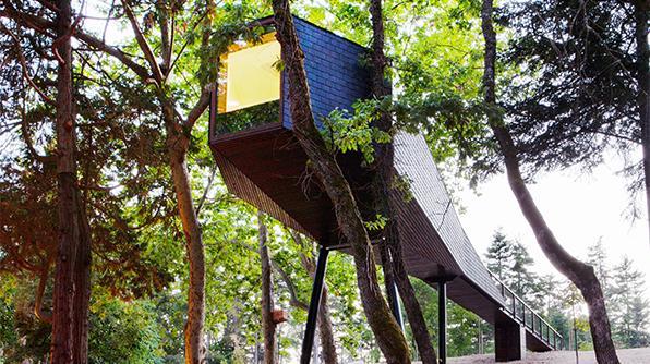 Today's Daily Escape is from Pedras Salgadas Spa & Nature Park in Bornes de Aguiar, Portugal