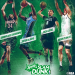 RT @NBAAllStar: Last night on @NBATV's #FanNight, the fellas revealed the #SpriteSlam Dunk Contest field: http://t.co/Gw0DHKIgwN