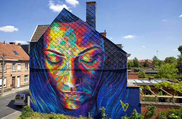 Artista: David Walker. Festival de Roeselare, Bélgica. http://t.co/G8YrPJwj9A