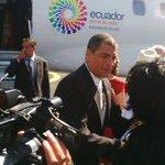 Twitter / @Presidencia_Ec: Presidente @MashiRafael a ...