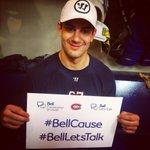 Max veut vous voir tweeter #BellCause! / #Habs fans, Max wants to see your #BellLetsTalk tweets! http://t.co/9bUjCwhTEq
