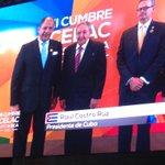 El presidente de Cuba, Raúl Castro, llega a cumbre de la #CELAC2015, es recibido por @luisguillermosr Vía @nacion http://t.co/hwXxVqx54I