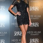 Heidi Klum has legs for days! How perfect is this sexy LBD look?