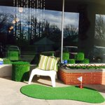 Gorgeous day! Our door is wide open. Come see us! Ill beat you at put-put ⛳️#gooutside #GoGreen #AG #OKC http://t.co/jmMpTW4Qac
