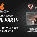 Join us TONIGHT at @paysbig with the @BucksDancers for a Bucks vs. Magic Viewing Party!! http://t.co/YTffKmnbdF