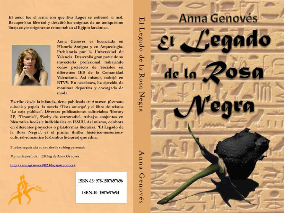 'El Legado de la Rosa Negra' disponible en Amazon Podéis echar un vistazo desde mi blog... http://t.co/GxE6D936ti http://t.co/XMUzDeG5rz