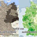 Deutschlandkarte • #Pegida #nopegida • via @danielmack http://t.co/wvcNlMORNz