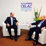 En reunión bilateral con el Secretario General de la OEA, José Miguel Insulza. http://t.co/uzZh1SSgz7