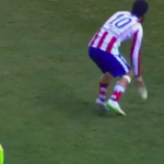 Video: Throwing Your Boot At The Linesman Is Only Worth A Yellow Card Apparently http://t.co/RiuGDItJYJ http://t.co/7Wg1yhW5hd