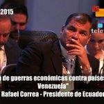 "#LaFrase   @MashiRafael condenó guerra económica contra #Venezuela como la ""implantada a Salvador Allende"" #CELAC2015 http://t.co/1DRbQkRTJM"