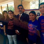 Special thanks to @utarlington President @VistaspKarbhari for the awesome picture today at the Activities Fair! #UTA http://t.co/U1uVD6i7PH