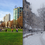 #Vancouvers pleasant green vs East Coasts snowpocalypse (Photos) http://t.co/AuLZi4P61d http://t.co/7PNhYUnoho